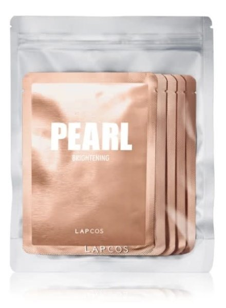 LAPCOS LAPCOS PEARL SHEET MASK 5 PACK PINK