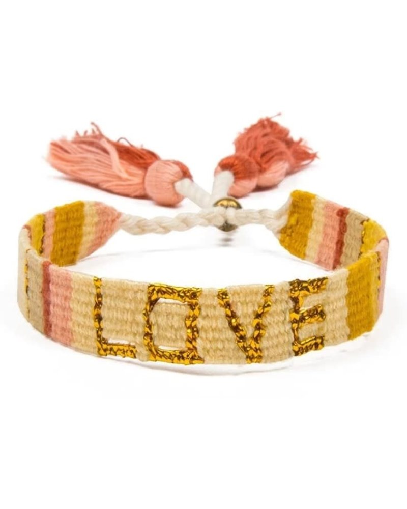 LOVE IS PROJECT LOVE IS ATITLAN LOVE YELLOW/GOLD