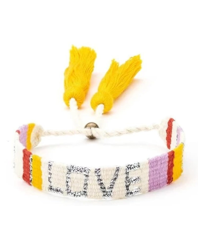 LOVE IS PROJECT LOVE IS ATITLAN LOVE WH/ RED
