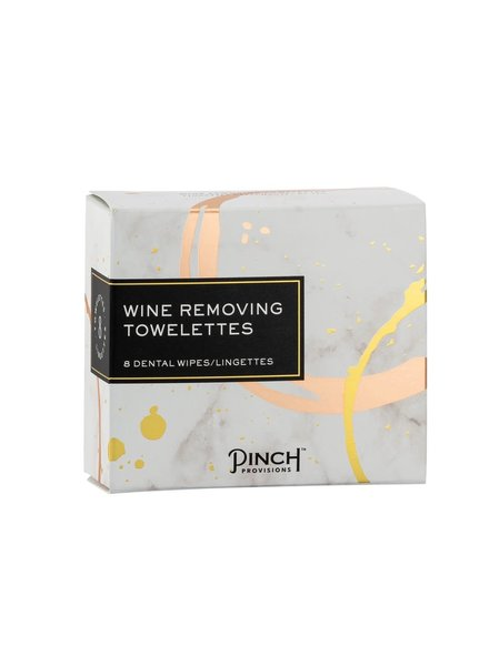 PINCH PROVISIONS PINCH WINE REMOVING TOWELETTES