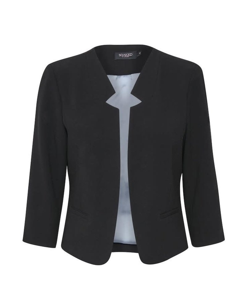 Soaked in Luxury SOAKED IN LUXURYLENA BLAZER BLACK SIZE L