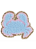 STONEY CLOVER STONEY CLOVER  GLITTER CRAB PATCH