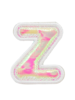 STONEY CLOVER STONEY CLOVER PUFFY IRID LETTER PATCH  Z