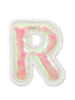 STONEY CLOVER STONEY CLOVER PUFFY IRID LETTER PATCH  R