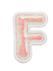 STONEY CLOVER STONEY CLOVER PUFFY IRID LETTER PATCH  F