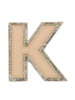 STONEY CLOVER STONEY CLOVER NEUTRAL METALLIC BLOCK PATCH K
