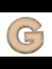 STONEY CLOVER STONEY CLOVER NEUTRAL METALLIC BLOCK PATCH G