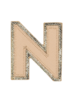 STONEY CLOVER STONEY CLOVER NEUTRAL METALLIC BLOCK PATCH N