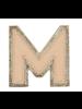 STONEY CLOVER STONEY CLOVER NEUTRAL METALLIC BLOCK PATCH M