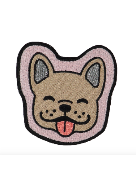 STONEY CLOVER SC DOG FACE STICKER PATCH