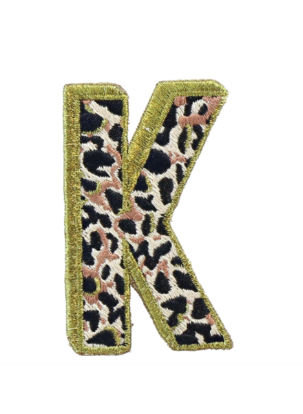 STONEY CLOVER SC LEO LETTER PATCH K
