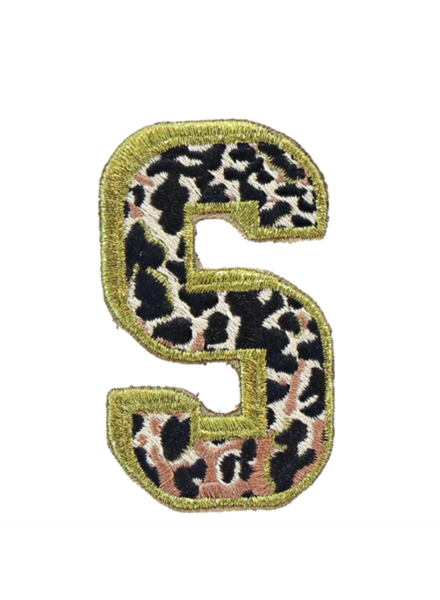 STONEY CLOVER SC LEO LETTER PATCH S