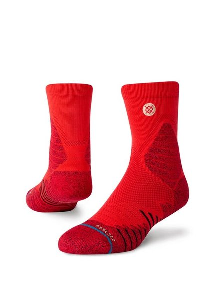Stance STANCE MENS HOOPS AMERICAN ST QTR RED SIZE LARGE