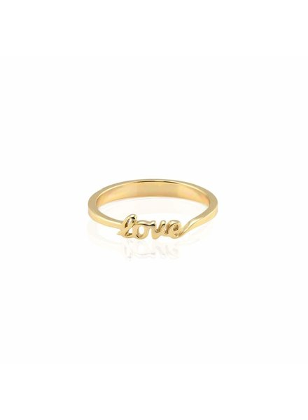 KRIS NATIONS LOVE RING GOLD