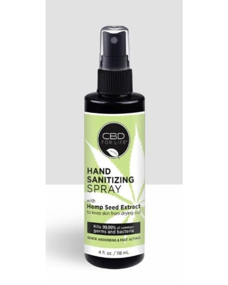 CBD For Life CBD Hand Sanitizing Spray