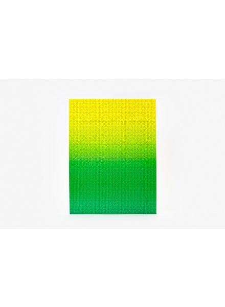 AREAWARE AREAWARE GRADIENT PUZZLE GREEN/YELLOW