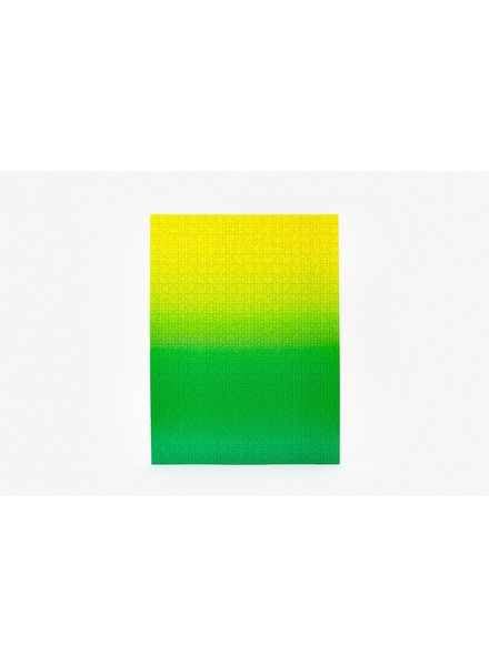 AREAWARE GRADIENT PUZZLE GREEN/YELLOW