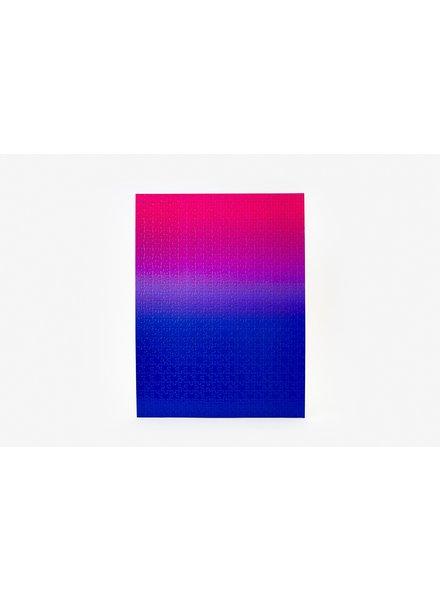 AREAWARE GRADIENT PUZZLE BLUE/PINK