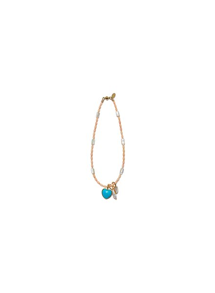 Lizzie Fortunato Jewels LFJ CATALINA NECKLACE CORAL