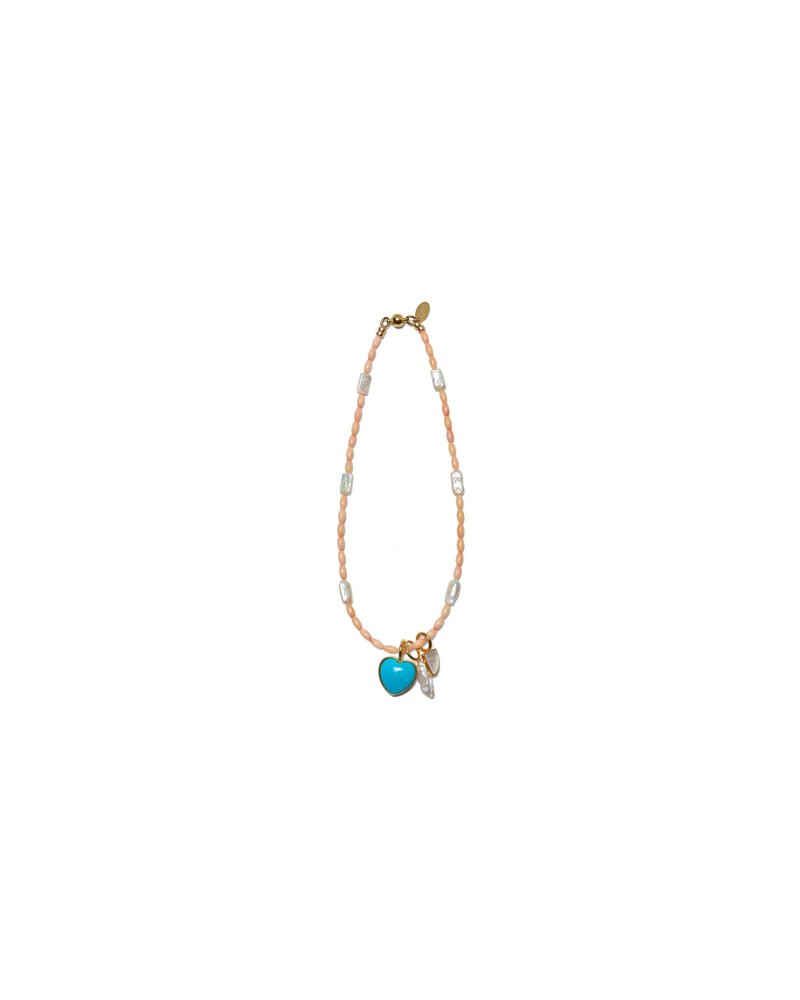 Lizzie Fortunato Jewels LIZZIE FORTUNATO JEWELS CATALINA NECKLACE CORAL