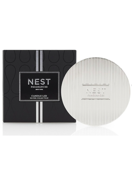 NEST NEST LID SILVER CLASSIC CANDLE