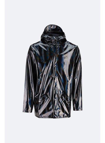 RAINS HOLOGRAPHIC JKT BLACK