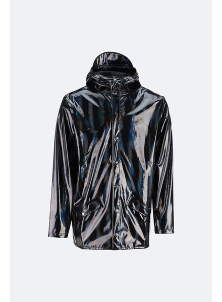 RAINS RAINS HOLOGRAPHIC JKT BLACK