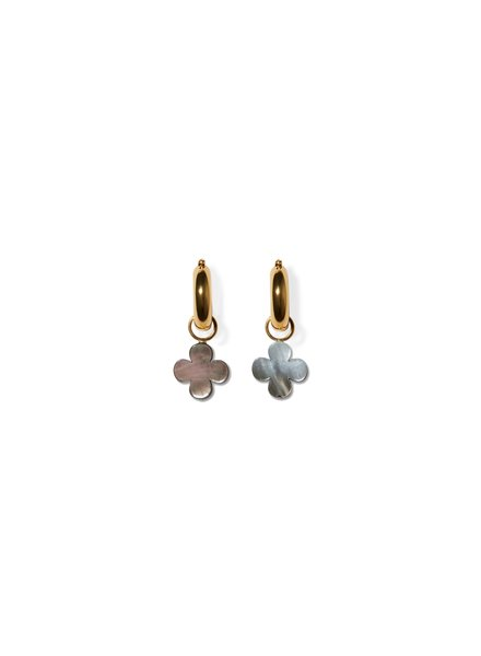 Lizzie Fortunato Jewels LFJ IN BLOOM CHARM EARRING