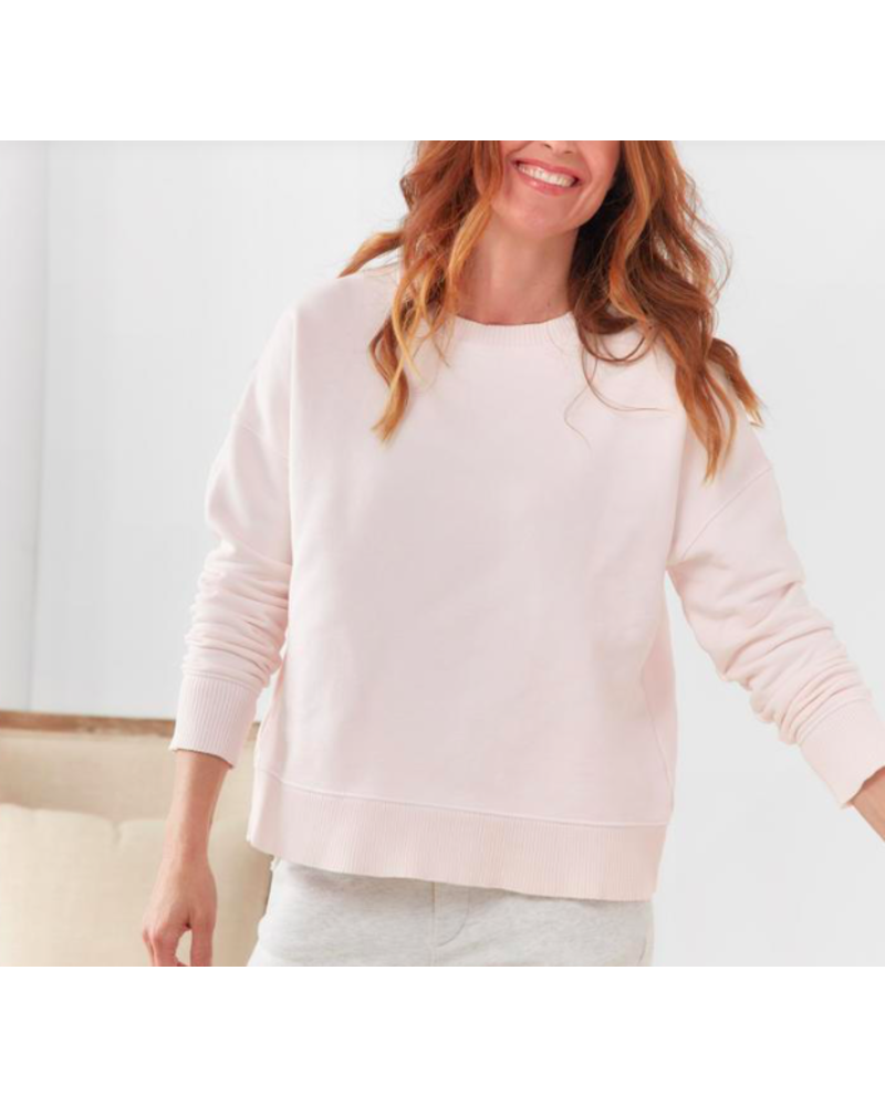 FRANK & EILEEN FE RIBBED KNIT PULLOVER