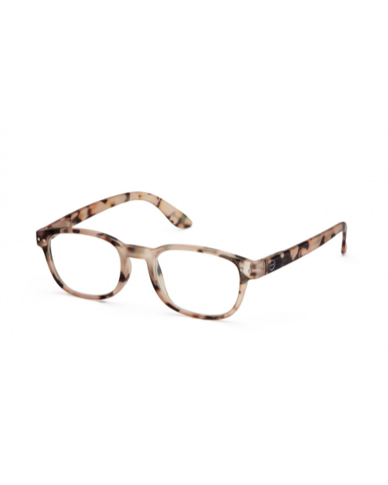 IZIPIZI READING GLASSES B LIGHT TORTOISE 1.00