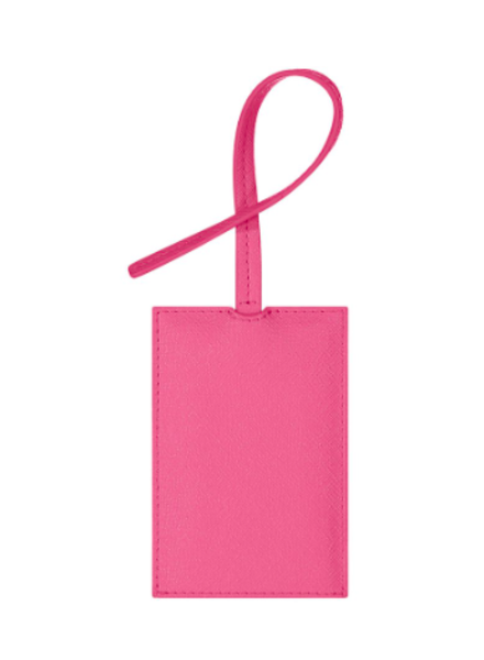 STONEY CLOVER TEXTURED LUGGAGE TAG GUAVA