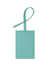 STONEY CLOVER TEXTURED LUGGAGE TAG COTTON CANDY