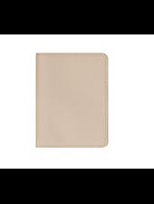 STONEY CLOVER TEXTURED PASSPORT CASE SAND