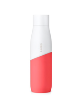 LARQ BOTTLE SINGLE WALL 24 OZ WHITE/ CORAL