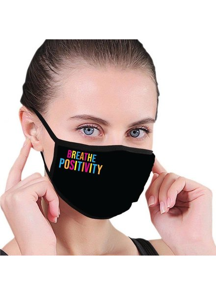 House of Tens Breathe Positivity Mask