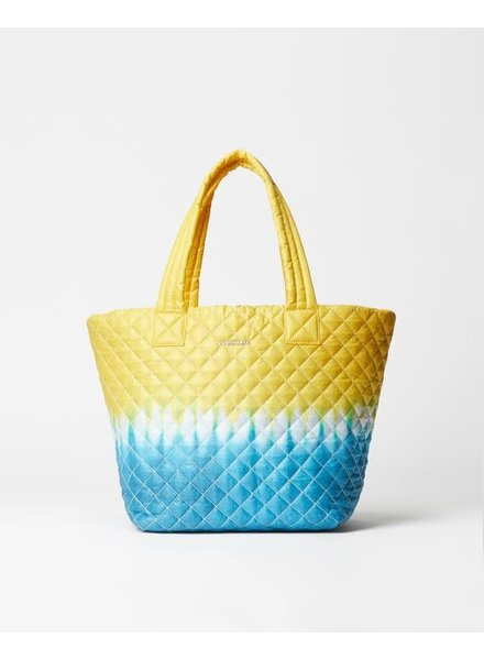 MZ Wallace METRO TOTE MED DAFFODIL TIE DYE OXFORD