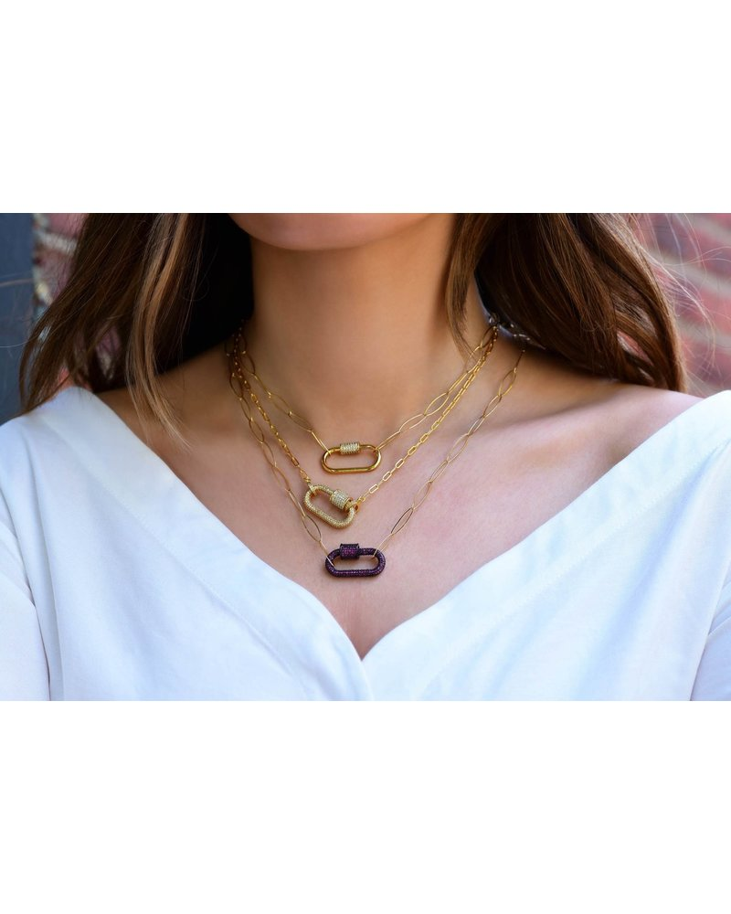 ELECTRIC PICKS ELECTRIC PICKS EMPIRE CRYSTAL NECKLACE