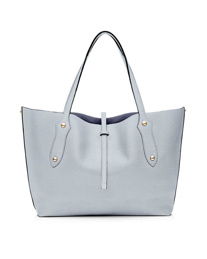 ANNABEL INGALL SMALL ISABELLA ITEM TOTE PALE LAPIS