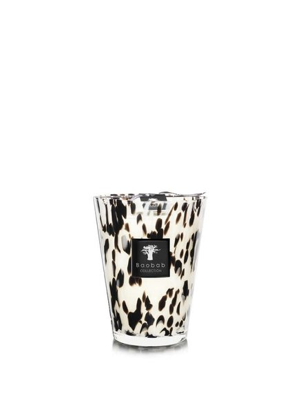 Baobab Candles MAX 24 PEARLS BLACK