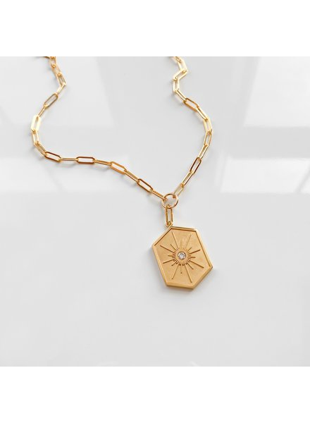 THATCH GUIDING STAR LINK NECKLACE