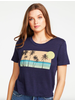 Chaser CHASER WAVY SUNSET TEE