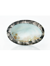 LILY JULIET LARGE CAVIAR DISH CHARCOAL