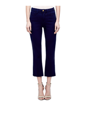 L'Agence NADIA HIGH RISE CROP STRAIGHT