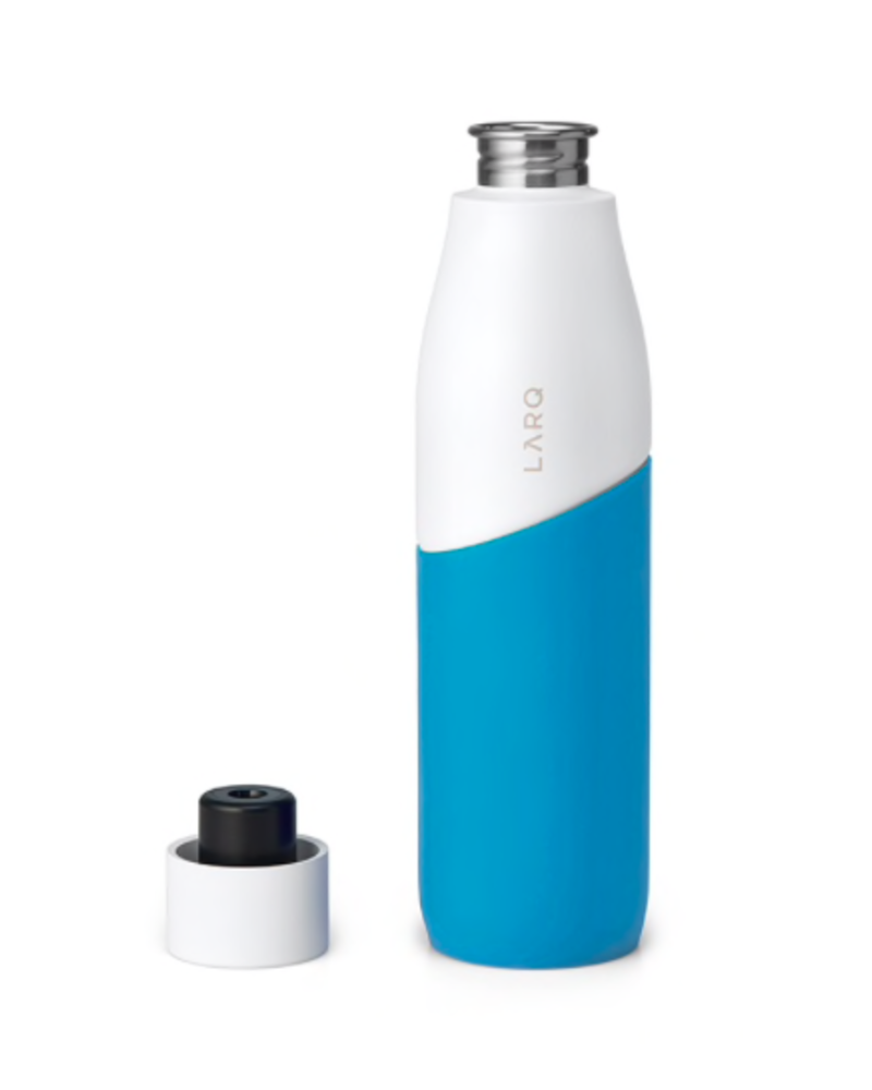LARQ LARQ MOVEMENT 32 OZ. WHITE/ MARINE