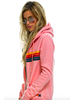 AVIATOR NATION AVIATOR NATION 5 STRIPE ZIP HOODIE