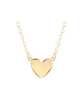 KRIS NATIONS SOLID HEART CHARM NECKLACE