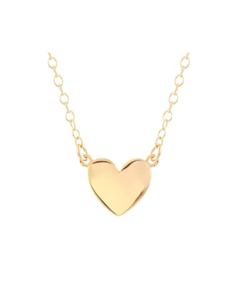 KRIS NATIONS KRIS NATIONS SOLID HEART CHARM NECKLACE