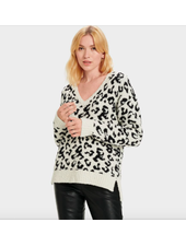UGG CECILIA V NECK LONG SLEEVE TOP