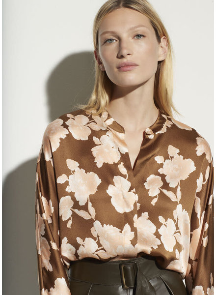 Vince Clothing TAPESTRY FLORAL POPOVER