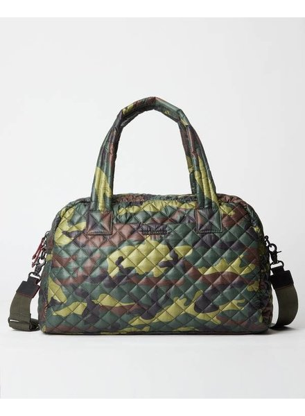 MZ Wallace JIMMY TRAVEL SMALL GREEN CAMO